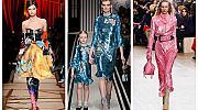 20 вдъхновения от модния подиум за цветен новогодишен тоалет