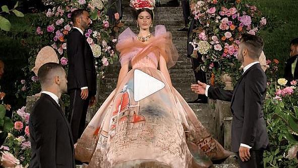 Във Флоренция беше показана (офлайн!) колекцията Dolce & Gabbana Alta Moda