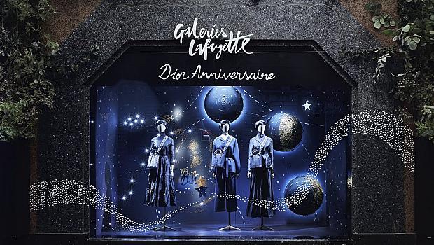 Dior пусна балон под купола на Галери Лафайет