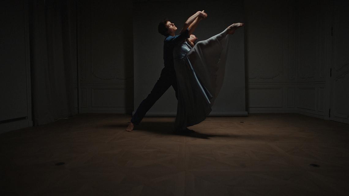 Френската примабалерина Мари-Анес Жило и балетистът Юго Маршон.