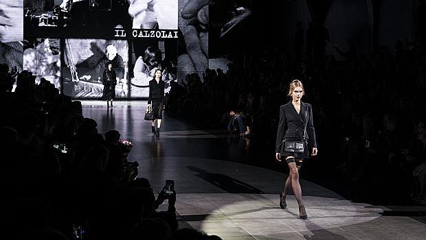 """Dolce&Gabbana с черно-бялo """"кино"""" в Милано"""