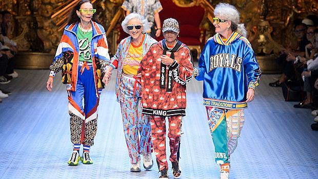 Dolce&Gabbana показаха, че за любовта към модата няма граници