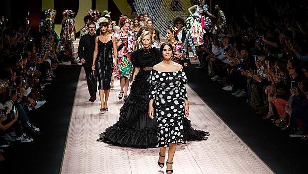 Седмица на модата Милано: Dolce&Gabbana, пролет-лято 2019
