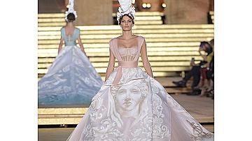 Класическата съвременност на DOLCE & GABBANA  Alta Moda