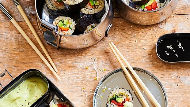 Идеално за пикник: зеленчуково суши