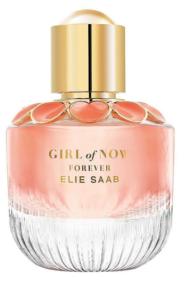 Girl Of Now Forever на ELIE SAAB ни пренася на горещо парти на Ибиса с ухание на ливанска лимонада, цвете ормонд, малина и лимонови кори.
