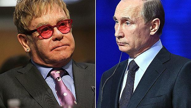 Спорът на месеца: Елтън Джон критикува Владимир Путин, а той отговаря на певеца