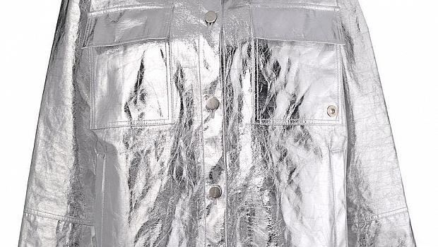 8 якета със сребърен цвят