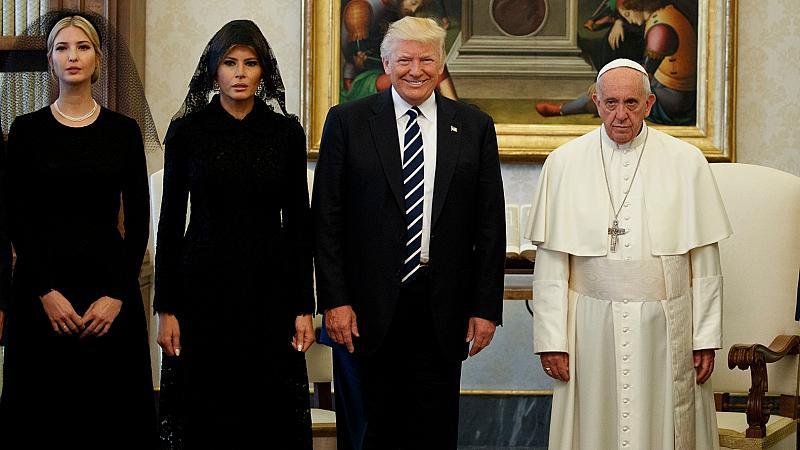 Тръмп и папата неволно участват в хорър филм режисиран от Интернет
