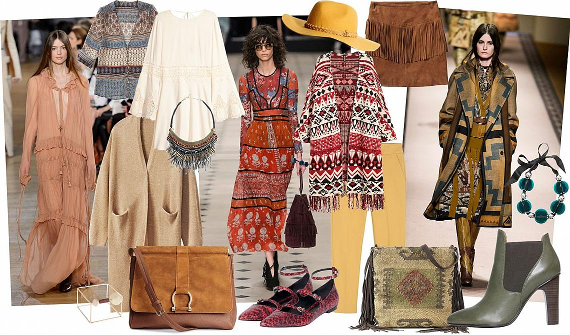 Фолклор и бохо за есен 2015