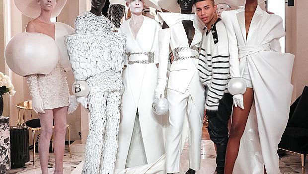 Balmain се завърна в седмицата на висшата модата след 16 годишно отсъствие