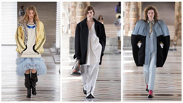 Модното шоу на Louis Vuitton в Лувъра срещна миналото с настоящето