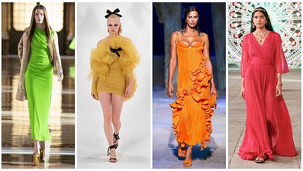Цветните рокли, които ще допринесат за пролетното ни настроение