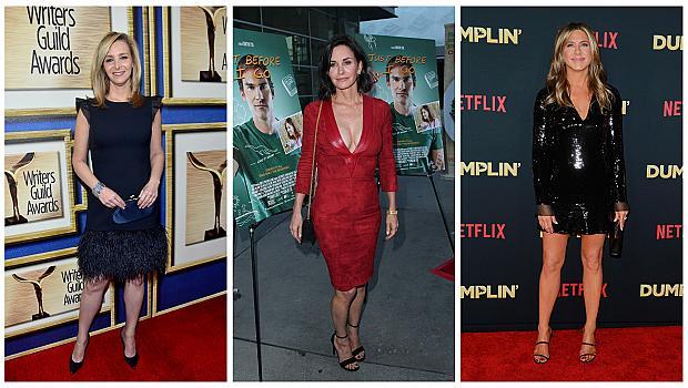 """Най-красивите звездни визии на актрисите от сериала """"Приятели"""""""
