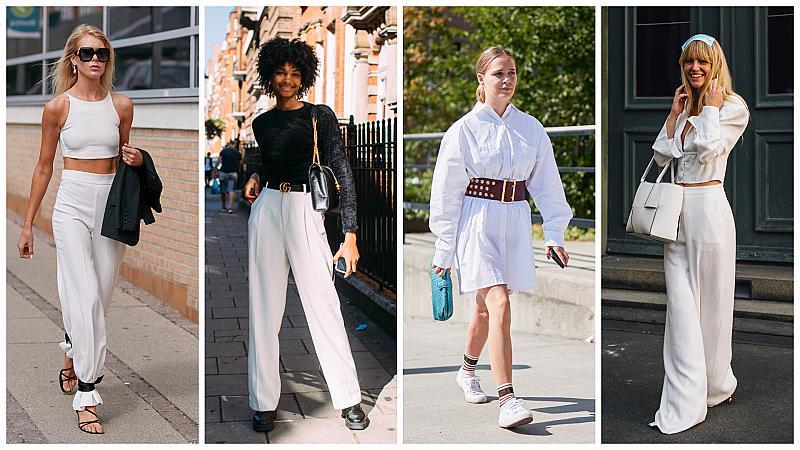 Обличаме се в цвета на лятото: 40 street style решения в бяло