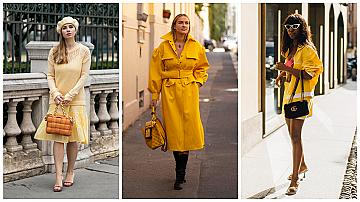 20 street style идеи в жълто за повече слънчеви дни през септември
