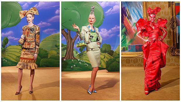 Екстравагантността на Moschino разнообрази ежедневния стил на обличане