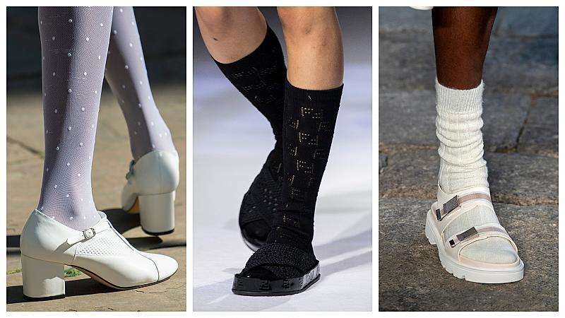 10 идеи как да съчетаем чорапите с обувките си