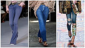 Ето как джинсите могат да се превърнат в супер елегантна модна придобивка