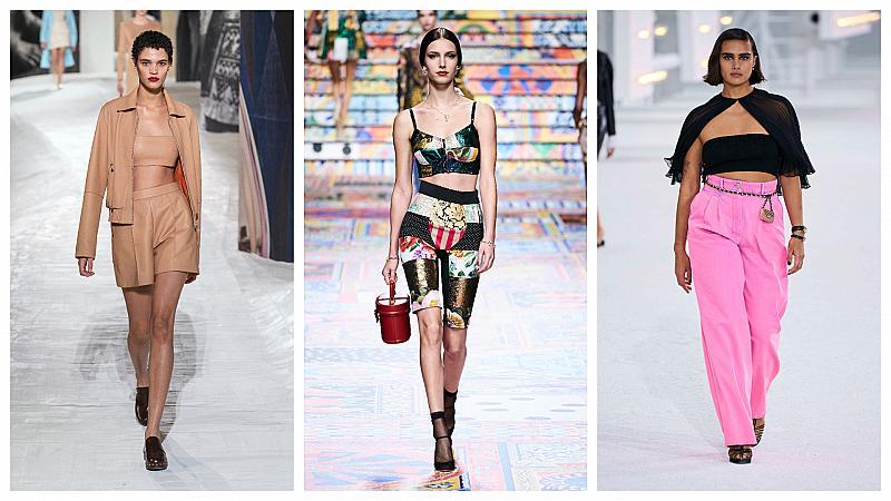 Как да носим любимия си къс топ? 21 стайлинг идеи от модния подиум