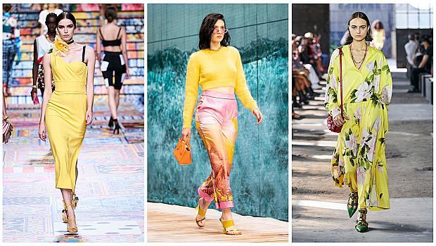 Код жълто! 17 слънчеви стайлинг идеи от модния подиум