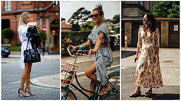 Рокля + сандали: Ефектна street style комбинация за лятото