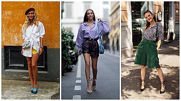 Риза + къси панталони: 14 ефектни комбинации за лятото