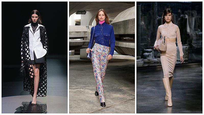 Как да носим любимата си риза? 12 стайлинг идеи от модния подиум