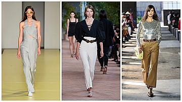 Панталоните с висока талия са още по-секси: 32 начина как да ги носите