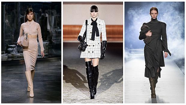19 стайлинг идеи с ботуши от модния подиум