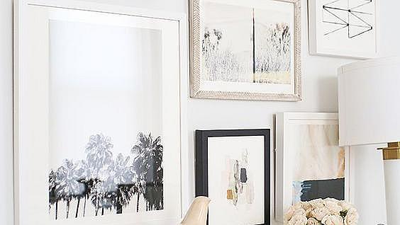 Идеи как да си направите стена-галерия