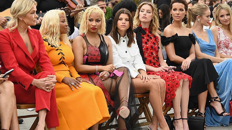 Стилът на звездите: Ники Минаж по време на Седмица на модата в Ню Йорк