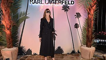 Карин Ройтфелд e официалният консултант на марката Karl Lagerfeld