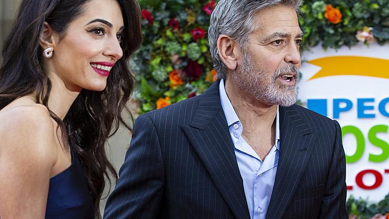 Синът на Джордж и Амал Клуни е в сериозна опасност