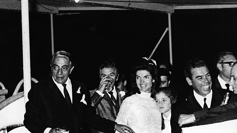 Историята на един ден: сватбата на Жаклин Бувие Кенеди и Аристотел Онасис