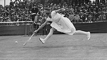 Тенисистката Сюзан Ленжел