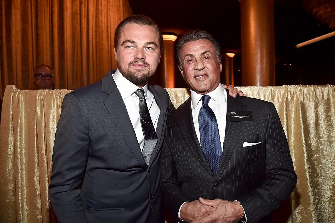 Леонардо Ди Каприо и Силвестър Сталоун са сред номинираните за Оскар