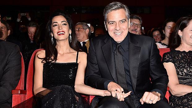 Амал и Джордж Клуни откриха фестивала Берлинале