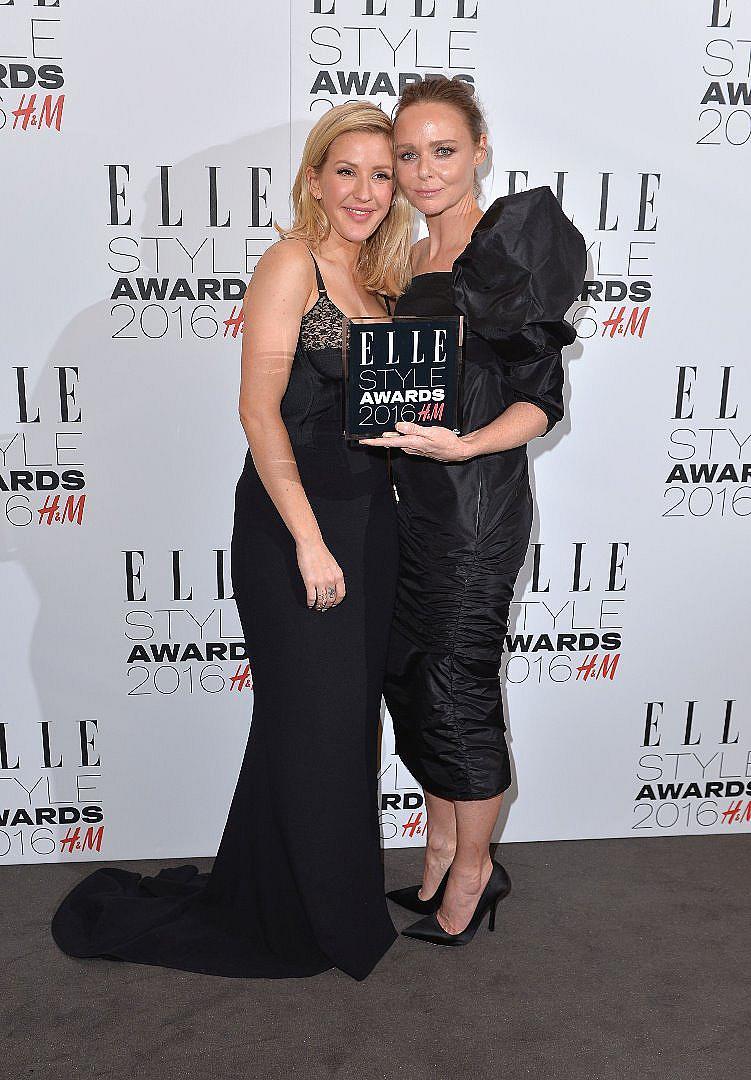 Стела Макартни - бранд на годината с певицата Ели Гулдинг