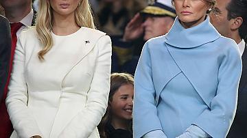 Как се наричат една друга Мелания и Иванка Тръмп?