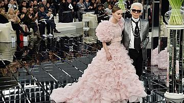 Chanel визиите на Лили-Роуз Деп
