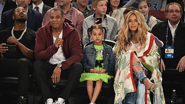 Бременната Бийонсе посети баскетболен мач