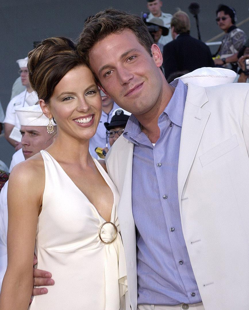 Кейт и Бен през 2001 г.