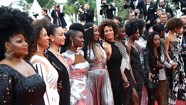 BALMAIN облече 16 чернокожи актриси в подкрепа в борбата срещу расизма