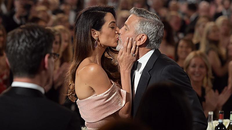 Джордж Клуни  - за романтиката с Амал и избора на имена за децата им