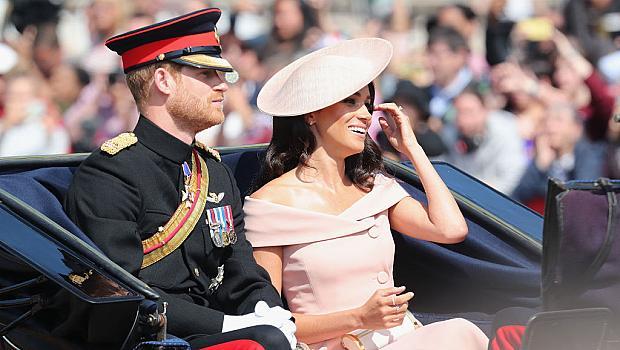 Принц Хари и Меган Маркъл на сватбата на племенницата на принцеса Даяна