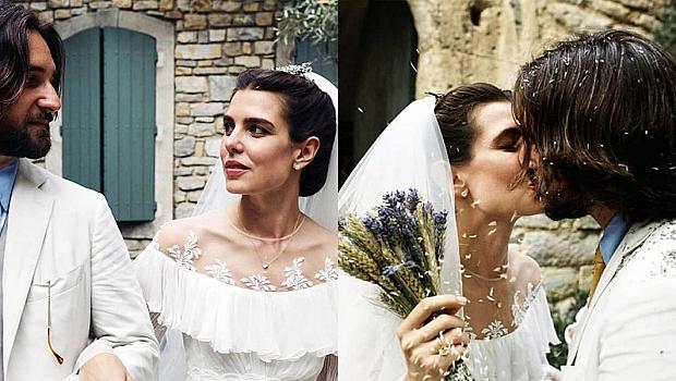 Внучката на Грейс Кели се омъжи в рокля на Giambattista Valli