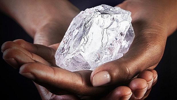 Кой купи най-големия кръгъл диамант в света?