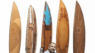 Как един българин в Санта Барбара облича хора, сърфове и мотори в кожа