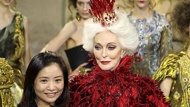 Гуо Пей специално за elle.bg от Париж сподели какво я вдъхнови за колекцията й висша мода